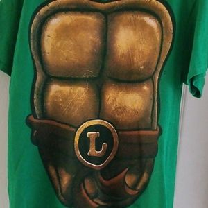 Teenage mutant ninja turtle shirt sz lrg Leonardo
